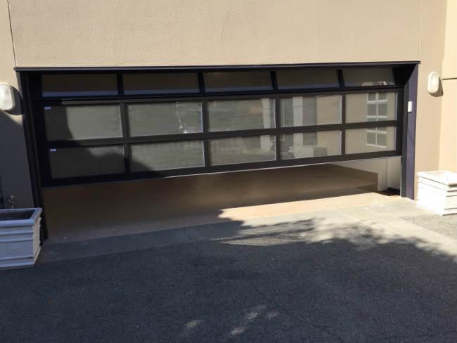 Frost Look Garage Door In Commerce Township MI By Elite® Garage Door, Repair & Installation Services