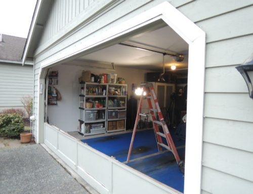 Garage Door Bent Panel Repair In Birmingham MI