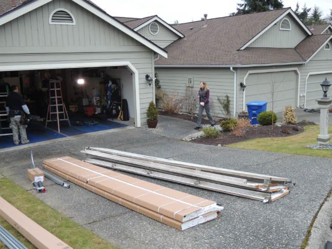 Bent Panel Repair In Troy MI By Elite Garage Door, Repair & Installation Services